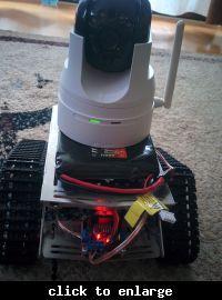 Mini robot arduino + sterowanie przez tablet/telefon android