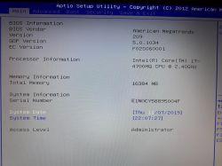 Asus N750JV - włącza się tylko do BIOS.