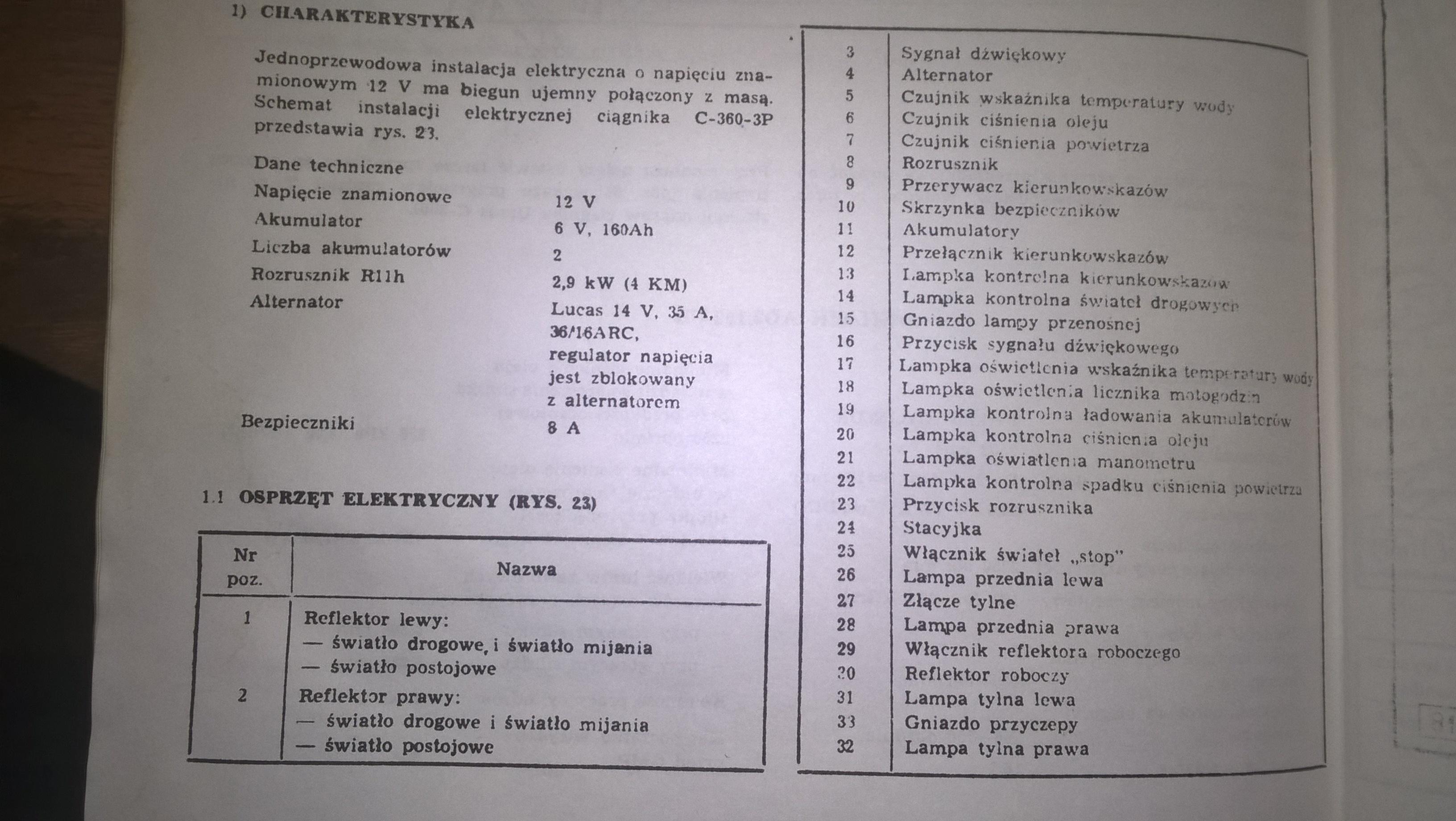 Ursus C 330 C 335 Instrukcja Napraw 1986