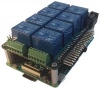 Mega-IO - nakładka do 95 wejść/wyjść GPIO z Raspberry Pi (Kickstarter)