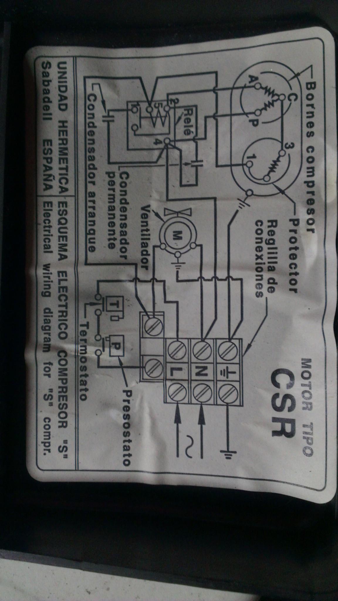 Silnik jednofazowy - uszkodzony kondensator roboczy