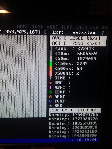 Seagate 1TB ST31000524AS - z�e wyniki MHDD