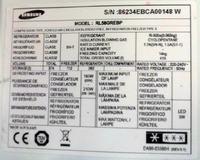 Samsung RL58GREBP-kompatybilność invertera DA9200157A, a DA9200165A