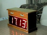 Zegar na mc1206 wersja z podwójnymi LED lub LCD