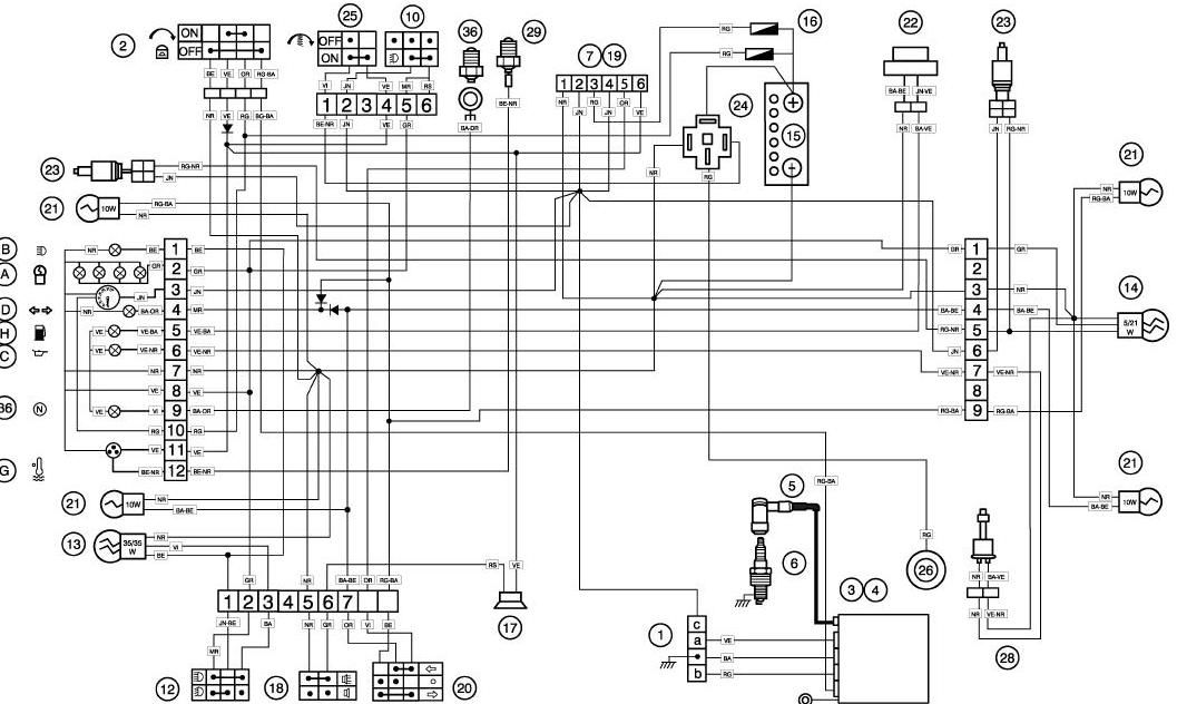 Peugeot Xr6 Regulator Napi�cia: Peugeot Xp6 Wiring Diagram At Anocheocurrio.co