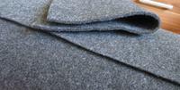 [Sprzedam] Filc/Materiał obiciowy ciemny melanż(szary) lub czarny 12zł m2