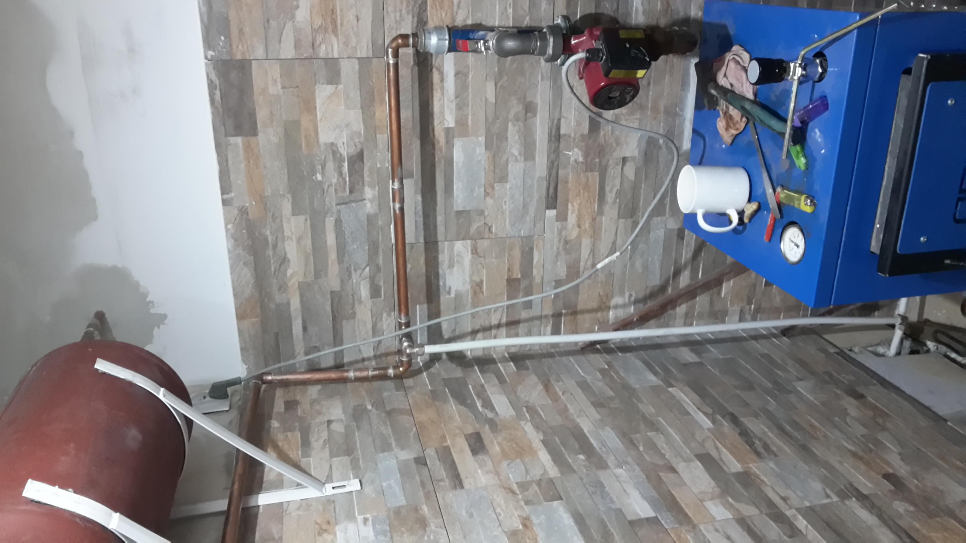 Opal 6-8kw - Instalacja CO zapowietrza si�