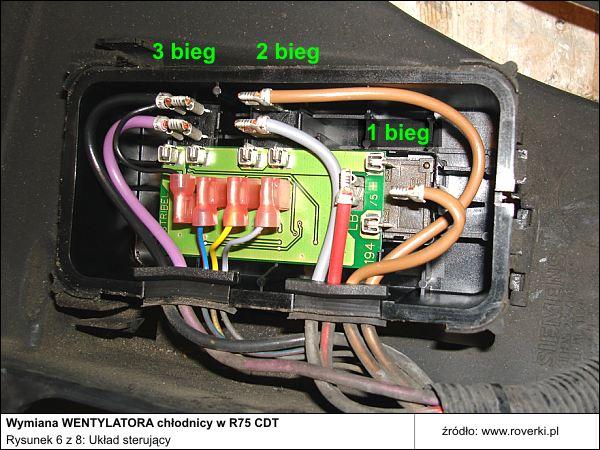 Rover 75 2.0 CDT nie w��cza si� wentylator.