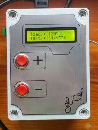 Regulator PI do piecyka złącz światłowodowych.