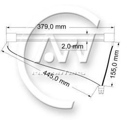 Dell Vostro 1710 - brak podświetlenia matrycy