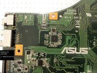 Asus K53SC - Zwarcie na głównej lini zasilania. Płyta pali tranzystor.