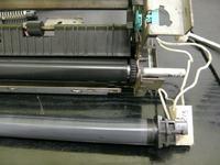 HP LaserJet 1320 - Wymiana folii i panewek wałka dociskowego.