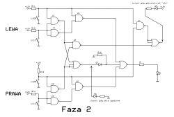 Detektor włączonych świateł LED z modułem wykonawczym - projekt