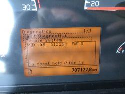 Volvo fm 9 - Błąd czujnika temperatury zewnętrznej