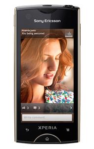 Sony Ericsson Xperia ray - telefon z systemem android i aparatem 8mpx