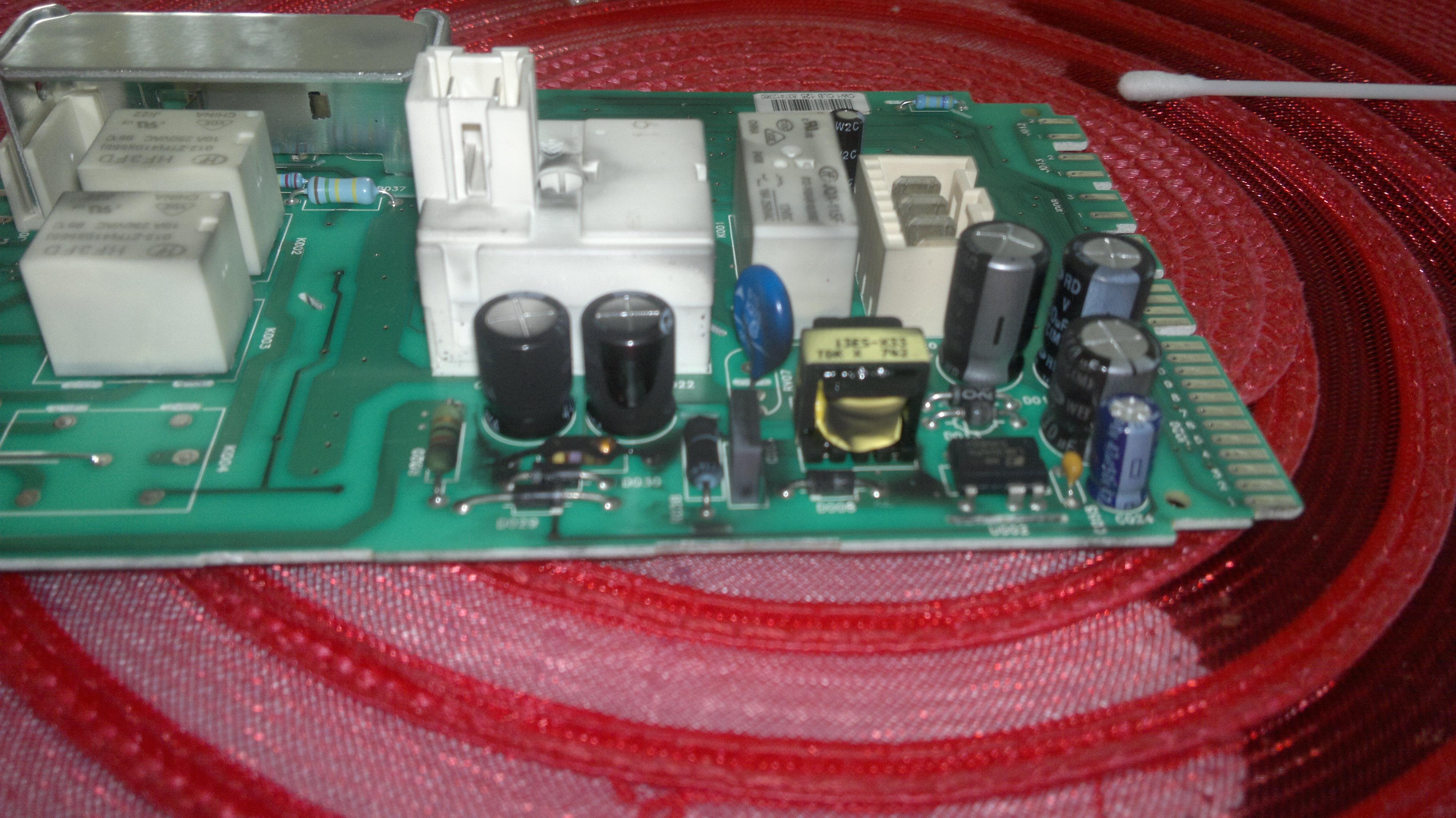 Programator pralki Polar PFL 1019 - uszkodzony d�awik