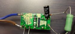 Uszkodzony impulsowy zasilacz LED - padnięty sterownik PWM?