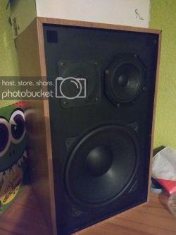 Zabytkowe głośniki Sonostat - naprawa głośnika