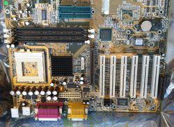 [Sprzedam]Płyty głowne Abit ST6, Pentium 60, PIII-S 1266M, ram 512MB i inne