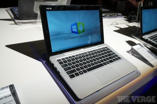 Asus Transformer Book Duet - hybrydowy tablet z Windows 8 i Android na CES 2014