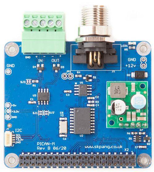 Raspberry Pi HAT z łączem NMEA 2000 do zastosowań morskich