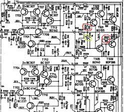Diora WS354 - Przepalone rezystory, regulacja prądu spoczynkowego