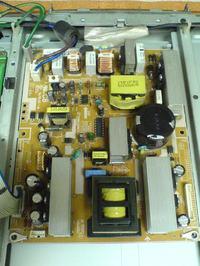 TV LCD Samsung LE32A551 nie w��cza si�, �wiszczy zasilacz