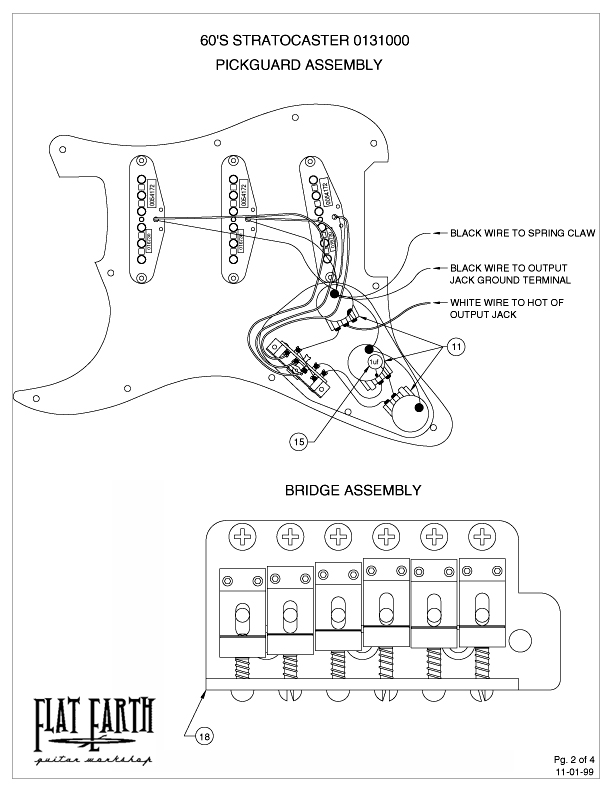 Single Pickup Wiring Diagram