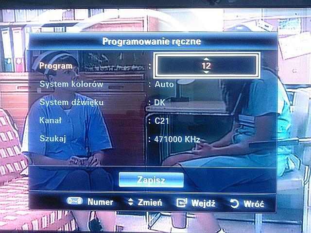 Jak ustawi� kana�y w telewizorze samsung le40c650