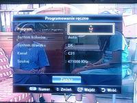 Jak ustawić kanały w telewizorze samsung le40c650