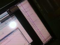 Monitor LED Dell 2408WFB - Pionowy pasek przez cala wysokosc ekranu