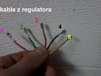 Nietypowy regulator w crossie (instalacja oświetlenia)