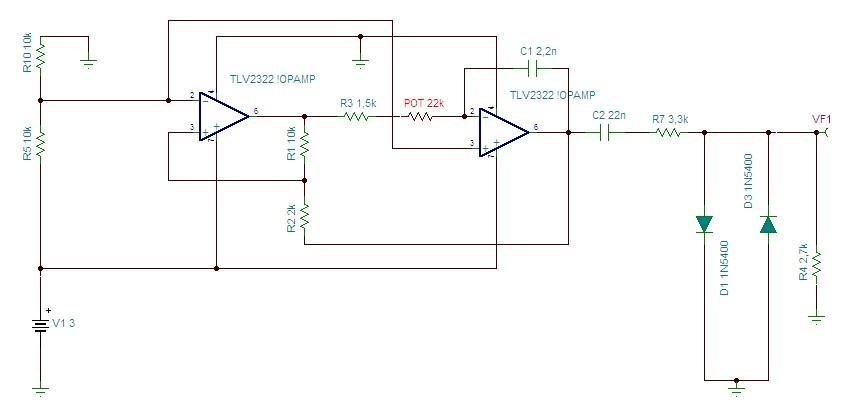 Oscylator sinusoidalny 20 -120 kHz - odbiornik ultrad�wi�kowy