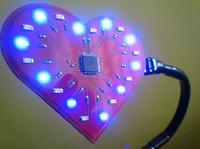 Elektroniczna wizytówka LCD