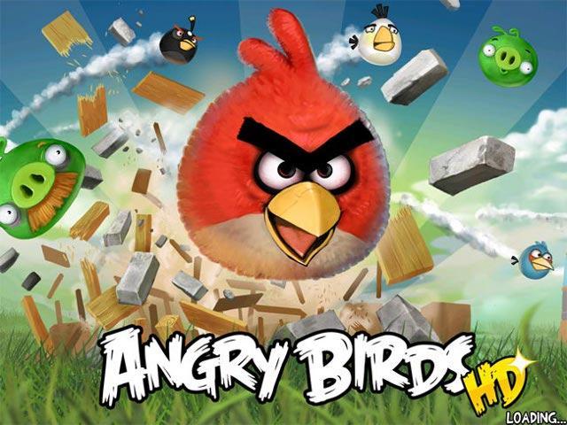 Angry Birds najpopularniejsz� gr� na �wiecie - ponad 400 milion�w pobra�
