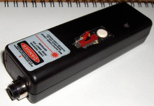 Laser dużej mocy z nagrywarki DVD