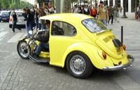 Buggy 2k7 na bazie samochodu Fiat 126p.