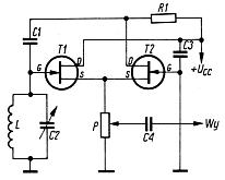 Generatory na J-FET (w tym ze sprzężeniem źródłowym)