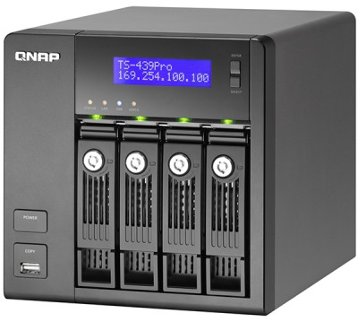 QNAP TS-439 Pro Turbo z procesorem Intel Atom