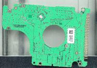 Samsung MP0804H rev A. Spalona płytka.