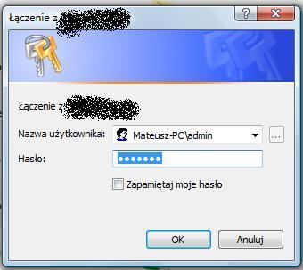 System dodaje nazwę komputera do nazwy użytkownika