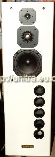 Tonsil BOLERO 300 - fenomen kolumn głośnikowych. Foto.