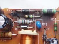 Lodówka Ariston MB 3832C uszkodzony moduł.