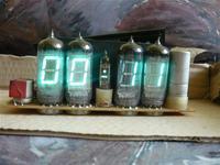 Zegar VFD na 6 lampach IV-11.