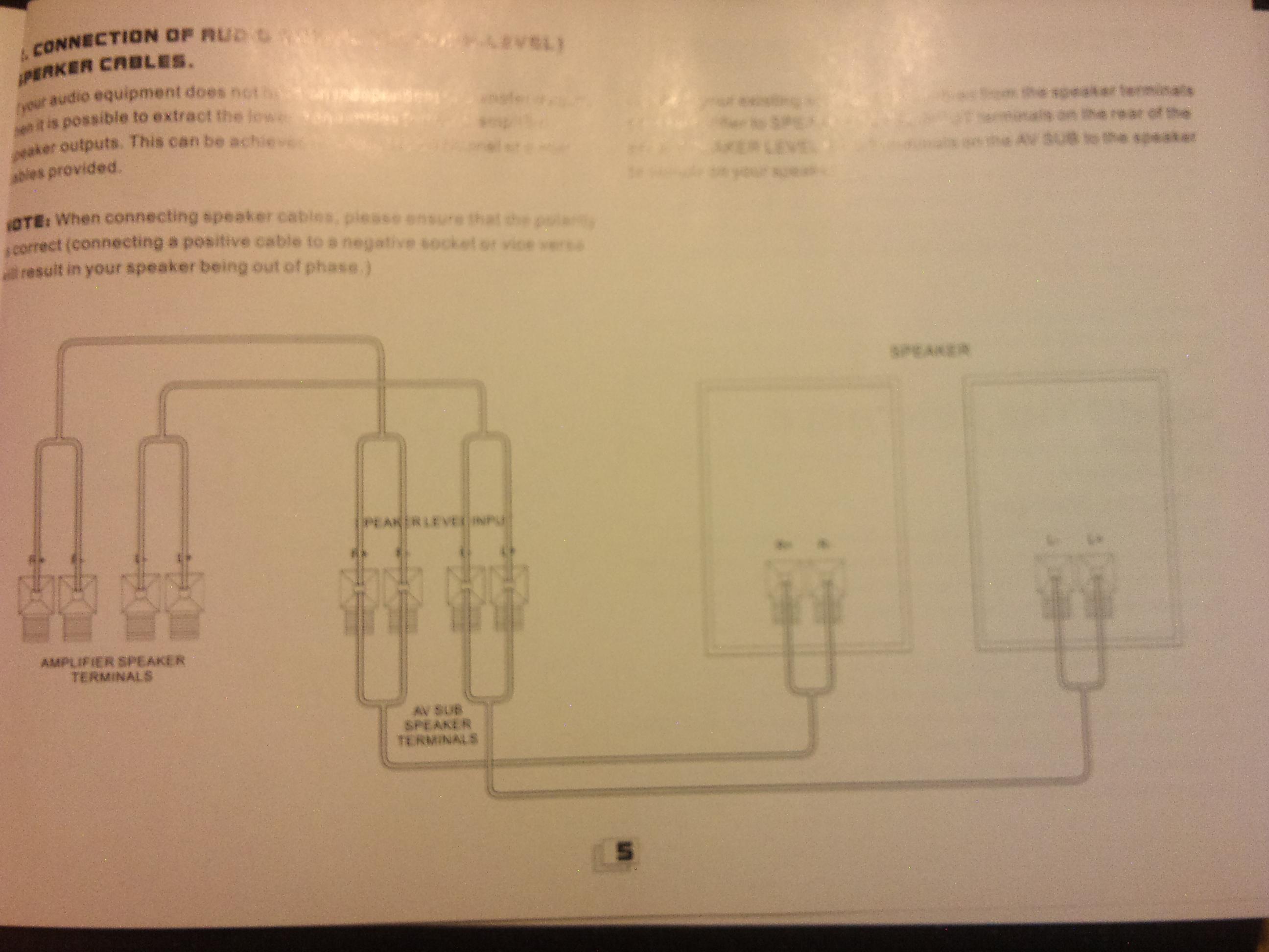 Koda SW-550 V2,Kenwood GE-820 - Jak pod��czy� sub z wzmacniaczem i g�o�nikami?