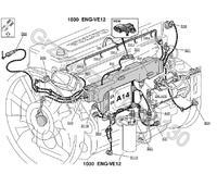 Cewka podgrzewacza Volvo fh12