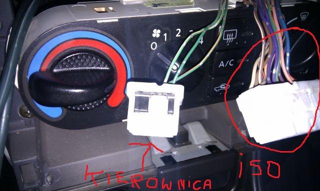 Jak podłączył radio do sterowania przy kierownicy?