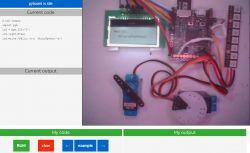 Eksperymenty online z micropython na sprzęcie, podgląd strumieniowany na żywo