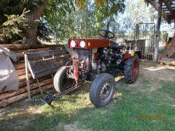Traktorek Dzik 2 z silnikiem i skrzynią Tico.