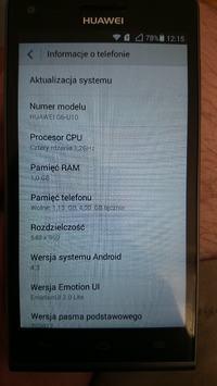 Huawei G6 - Mało wbudowanej pamieci nawet po zresetowaniu